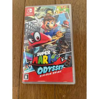ニンテンドースイッチ(Nintendo Switch)のケース付き スーパーマリオオデッセイ(家庭用ゲームソフト)