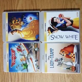 ディズニー(Disney)のディズニー Blu-ray 4点セット 国内正規品 未再生 タイトル変更自由(キッズ/ファミリー)