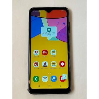 SAMSUNG - 超美品  Galaxy A21 ブラック docomo ドコモ Samsung