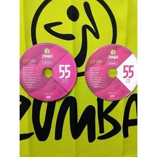 ズンバ(Zumba)のズンバ ZUMBA CD&DVD ZIN55 インストラクター専用(スポーツ/フィットネス)