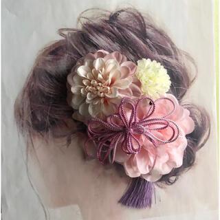 愛らしい髪かざり 袴 卒業式 結婚式 成人式 髪飾り 成人式髪飾り 和装(その他)