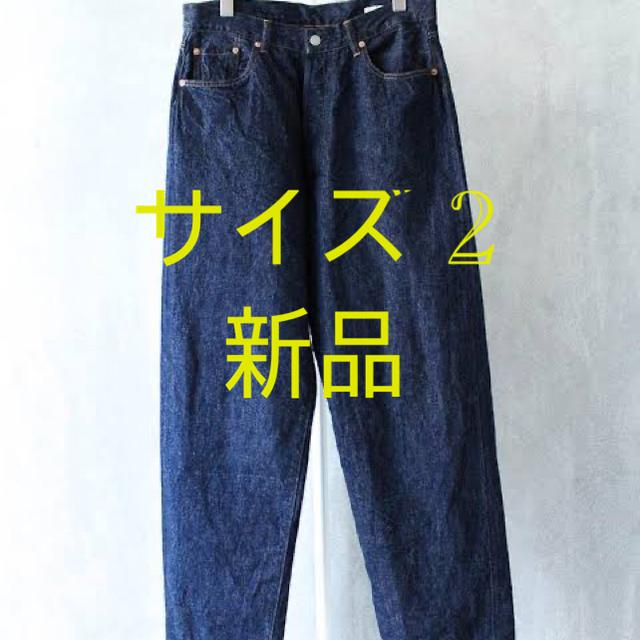 COMOLI(コモリ)の21SS COMOLI 5P デニム サイズ 2 新品 メンズのパンツ(デニム/ジーンズ)の商品写真