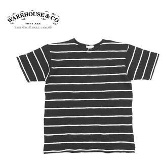 ウエアハウス(WAREHOUSE)のwarehouse ウエアハウス  ボーダー Tシャツ  Lot 4087  (Tシャツ/カットソー(半袖/袖なし))