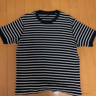 ユニクロ(UNIQLO)のボーダーシャツ ユニクロ(Tシャツ/カットソー(七分/長袖))