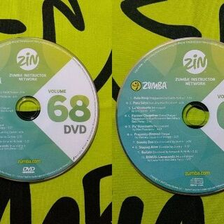 ズンバ(Zumba)のZUMBA ズンバ ZIN68 CD&DVD インストラクター専用(スポーツ/フィットネス)