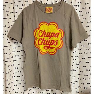 シマムラ(しまむら)の数回のみ チュッパチャプス Tシャツ(Tシャツ(半袖/袖なし))