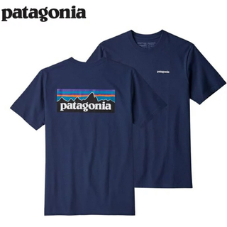 patagonia - パタゴニア tシャツ ロゴt P-6ロゴ レスポンシビリティー