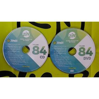 ズンバ(Zumba)のZUMBA ズンバ ZIN84 CD&DVD インストラクター専用(スポーツ/フィットネス)