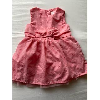 西松屋 - 西松屋さんのワンピース、ドレス、刺繍レース生地、チュール裏地付き