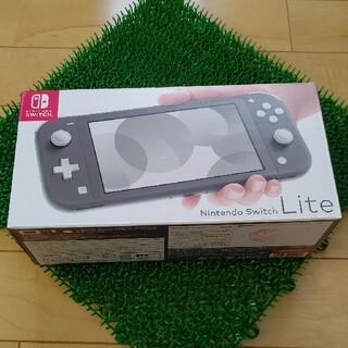 Nintendo Switch - ニンテンドースイッチ ライト 本体 グレー Nintendo Switch