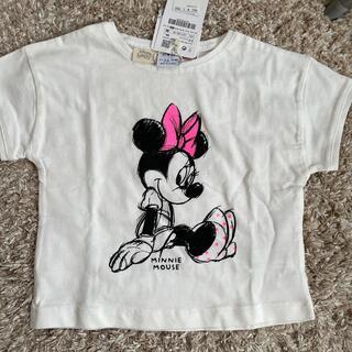 ザラキッズ(ZARA KIDS)のZARAキッズ ミニーマウスTシャツサイズ98(Tシャツ/カットソー)