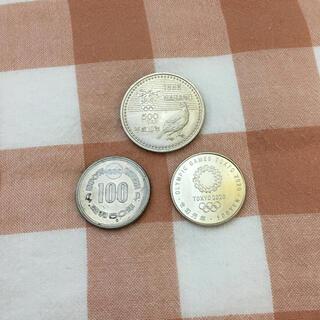 【特価】記念硬貨3枚セット その7(スポーツ)