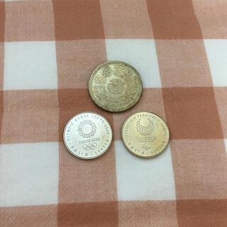 【特価】記念硬貨3枚セット その8(スポーツ)