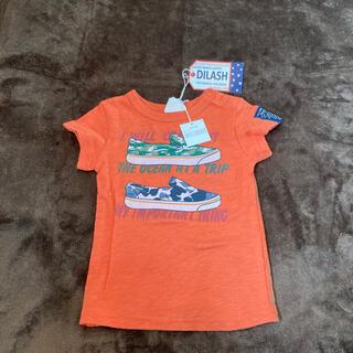 ディラッシュ(DILASH)の新品!!DILASH ディラッシュ●オレンジ スニーカー  Tシャツ(Tシャツ)