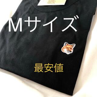 MAISON KITSUNE' - MAISON KITSUNE' メゾンキツネ Tシャツ M foxパッチ