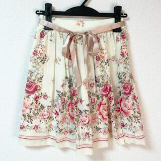レストローズ(L'EST ROSE)のL'EST ROSE♡グラデーションローズスカート(ひざ丈スカート)