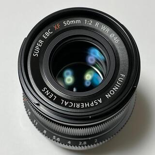 富士フイルム - FUJIFLM フジノンレンズ XF50mmF2 R WR ブラック