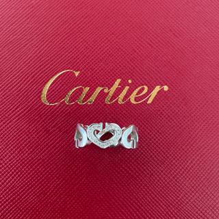 Cartier - K18 WG ダイヤモンド カルティエCハートリング 48