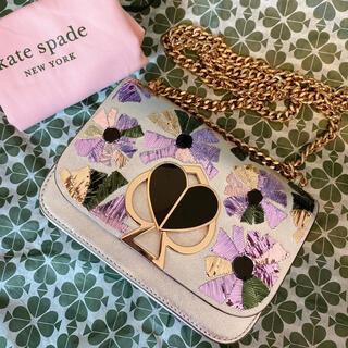 kate spade new york - ケイトスペード ニコラ ツイストロック ウォールフラワー 花柄 ショルダーバッグ
