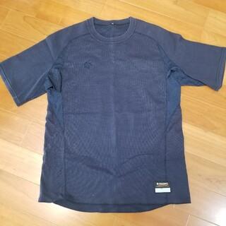 デサント(DESCENTE)のデサント ベースボールTシャツ ハイネック袖無し 2枚セット ネイビー XO(ウェア)