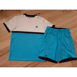 アディダス(adidas)のadidasアディダス Tシャツ&ショートパンツ2点セット150cm テニス運動(その他)