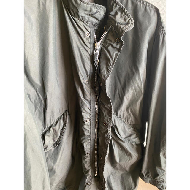 M65 モッズコート(70s) 黒染め REGULAR-SMAL メンズのジャケット/アウター(モッズコート)の商品写真