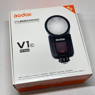 Canon - ◎新品◎ GODOX V1-C ストロボ CANON EOSシリーズ対応