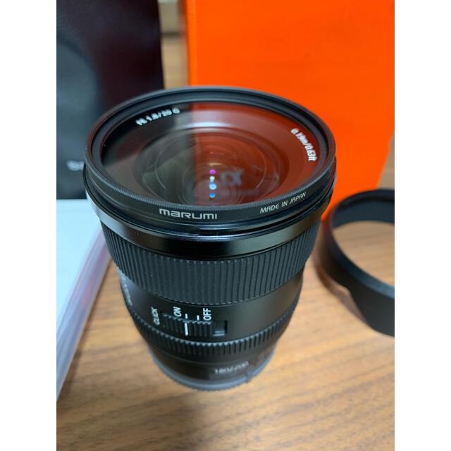 SONY(ソニー)のFE 20mm F1.8 G SEL20F18G  スマホ/家電/カメラのカメラ(レンズ(単焦点))の商品写真