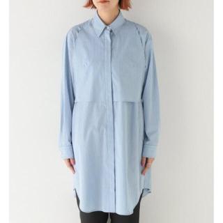 マルタンマルジェラ(Maison Martin Margiela)のMM6 ピンストライプ ドレスシャツ avp stripy long shirt(シャツ/ブラウス(長袖/七分))