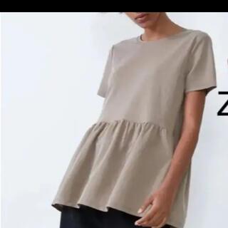 ZARA - ZARA へプラム Tシャツ