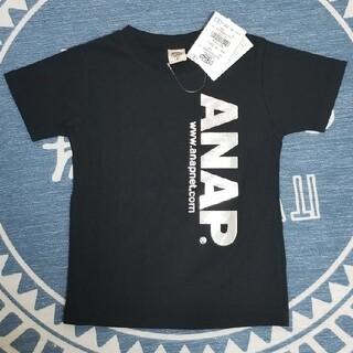 アナップキッズ(ANAP Kids)のANAP 黒Tシャツ(Tシャツ/カットソー)