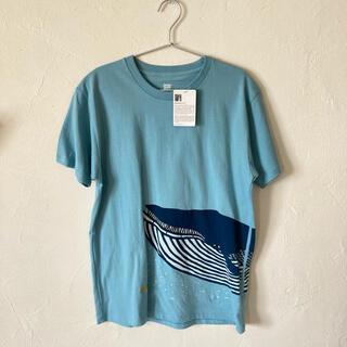 Graniph - katakata クジラ 半袖Tシャツ グラニフ ユニセックスMサイズ