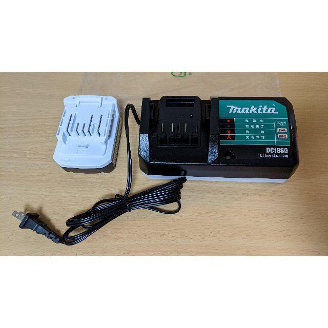 Makita(マキタ)の【新品】マキタ 充電器 DC18SG バッテリー BL1415G のセット スマホ/家電/カメラの生活家電(その他)の商品写真