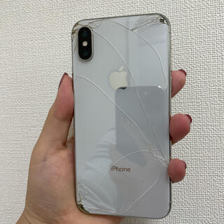 アップル(Apple)のiPhoneⅩ ジャンク(スマートフォン本体)