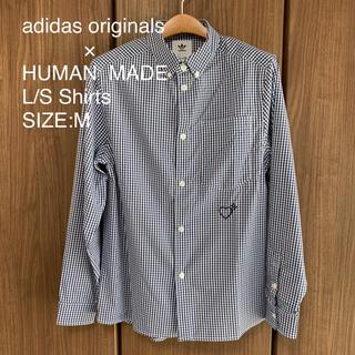 アディダス(adidas)のadidas × HUMAN MADE チェックシャツ アディダス NIGO(シャツ)