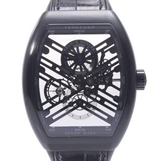 フランクミュラー(FRANCK MULLER)のフランクミュラー  ヴァンガード 7デイズ パワーリザーブ 腕時計(腕時計(アナログ))