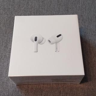 アップル(Apple)の【新品未開封】AirPodspro 並行輸入品(ヘッドフォン/イヤフォン)