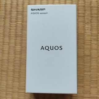AQUOS sense4 SM-M15 ブラックSIMフリー