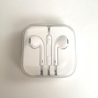 アップル(Apple)のアップル iPhone付属イヤホン 純正 ステッカーおまけ(ヘッドフォン/イヤフォン)