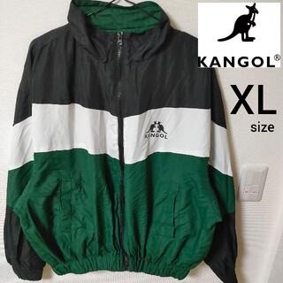 カンゴール(KANGOL)のKANGOL ナイロンジャケット オーバーサイズ ジャンパー メンズ XLサイズ(ナイロンジャケット)