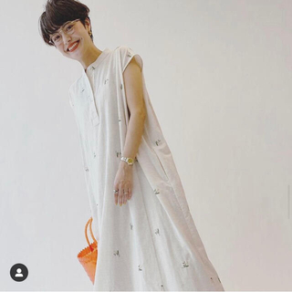 Spick and Span - ユーバイスピック&スパン embroidery Dress  花柄ワンピース