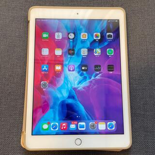 アップル(Apple)のiPad 第5世代 128GB ゴールド SIMフリー(タブレット)