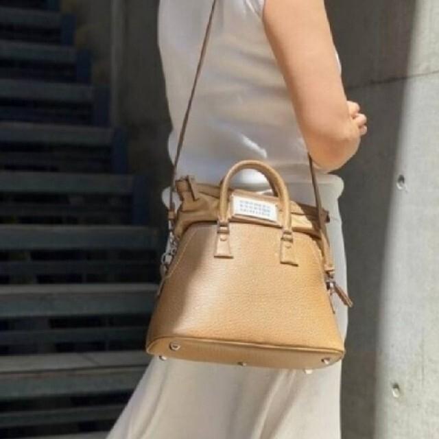 DEUXIEME CLASSE(ドゥーズィエムクラス)の【MAISON MARGIELA】「5AC」 small bag レディースのバッグ(ハンドバッグ)の商品写真