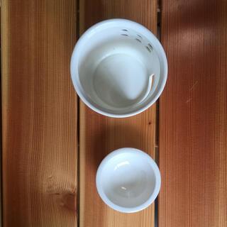 ムジルシリョウヒン(MUJI (無印良品))のアロマポット 陶器 ホワイト(アロマポット/アロマランプ/芳香器)