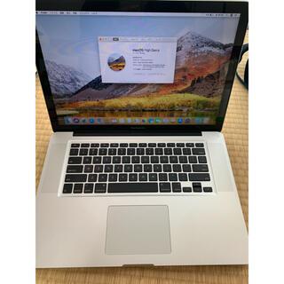 Mac (Apple) - 15インチMacbook  pro  i7 8GB  512GB  office