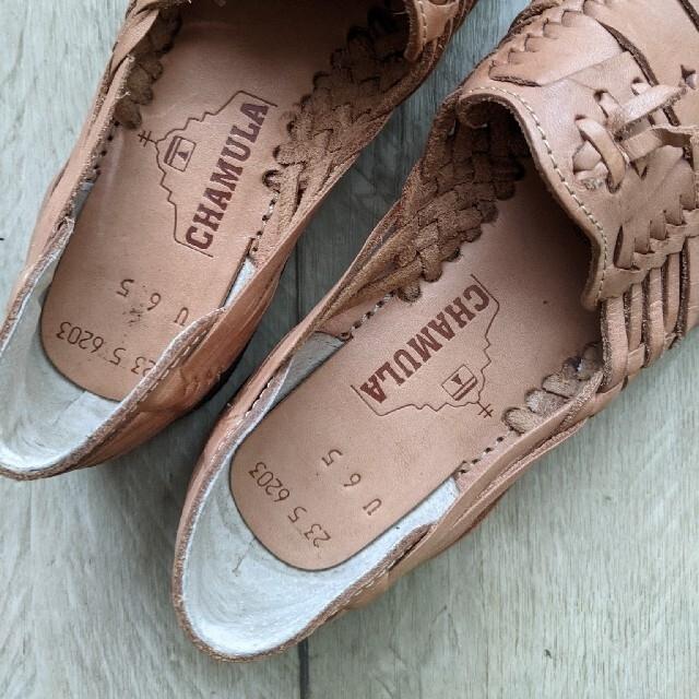 BEAUTY&YOUTH UNITED ARROWS(ビューティアンドユースユナイテッドアローズ)の 美品 CHAMULA メキシコシューズ レディースの靴/シューズ(スリッポン/モカシン)の商品写真