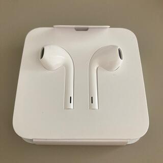 アップル(Apple)のiPhone イアフォン ライトニングタイプ(ヘッドフォン/イヤフォン)
