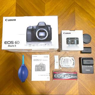 Canon - キャノン Canon eos 6d markⅱ 単焦点レンズセット