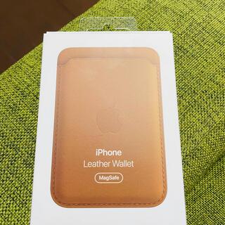 アップル(Apple)のApple純正 iPhone Leather Wallet Magsafe対応(iPhoneケース)