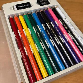 色鉛筆 12色 ラビット ビッグサイズ(色鉛筆)